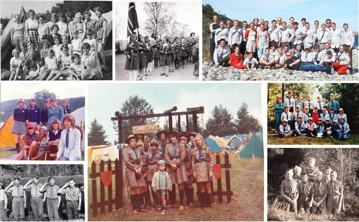 Rolvsøyspeiderne ble stiftet 1934.